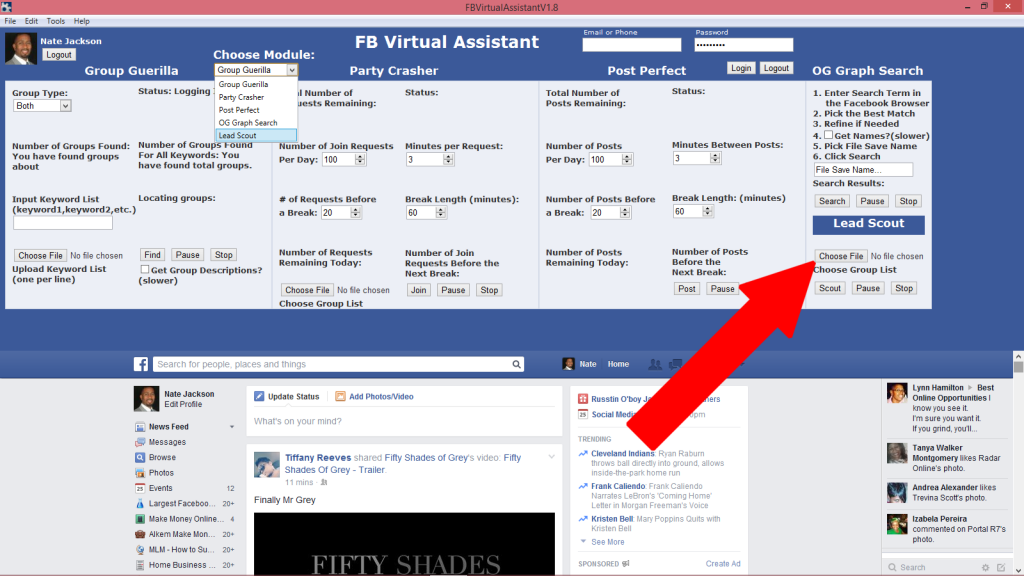 How to Extract Facebook Email Addresses and Scrape User IDs